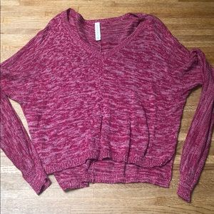 Aeropostale long sleeve v-neck sweater